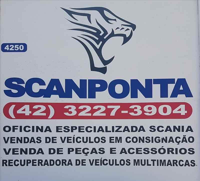 Foto da Loja da Scanponta Caminhões Peças e Serviços