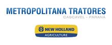 metropolitana tratores - new holland logo