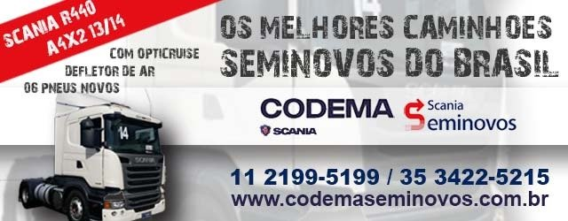 Codema Seminovos - Scania