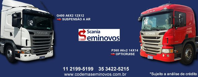 Codema Seminovos - Scania
